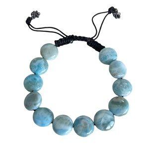 new Marahlago ☀︎︎ Larimar Crystal Beach Bracelet